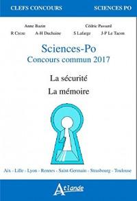 Sciences-Po, concours commun 2017