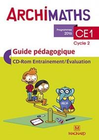 Mathématiques CE1 Archimaths : Guide pédagogique (1Cédérom)
