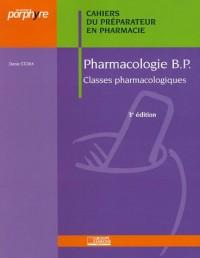 Pharmacologie : Cahiers du Préparateur
