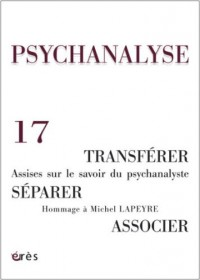 Psychanalyse, N° 17, Janvier 2010 :