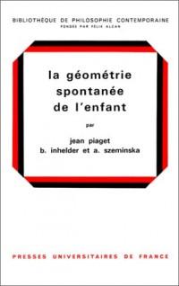La Géométrie spontanée de l'enfant, 2e édition