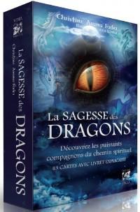 La sagesse des dragons : Découvrez les puissants compagnons du monde spirituel. Avec 1 livre et 43 cartes