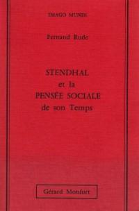 Stendhal et la pensée sociale de son temps