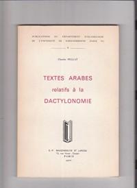 Textes Arabes relatifs à la dactylonomie