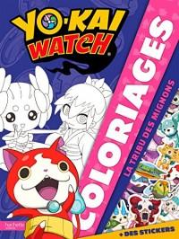 Yo-Kai Watch - Coloriages tribu les mignons