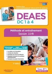 Deaes - preuves de Certification Dc 1 a 4 - Methode et Entrainement