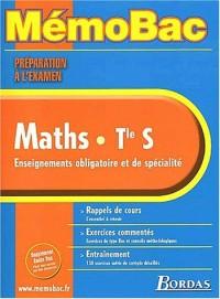 MEMO PREPA.EXAM MATHS TERM.S (SPE+OBLIG)    (Ancienne Edition)