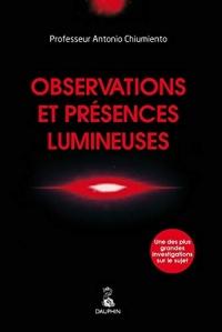 Observations et présences lumineuses