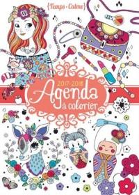 Agenda à colorier 2017-2018