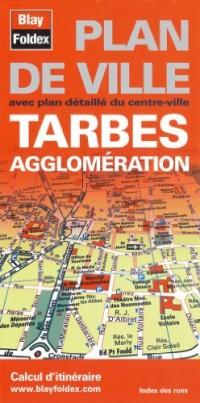 Plan de Tarbes et de son agglomération