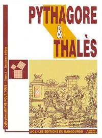 Pythagore et Thales