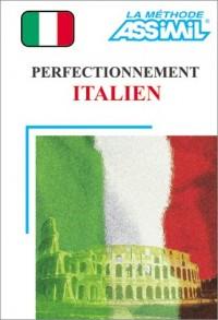 Perfectionnement Italien (1 livre + coffret de 4 cassettes)