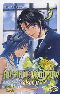 Rosario + Vampire, Tome 5, Saison 2 :
