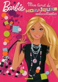 Mon livret de mosaiques autocollantes Barbie
