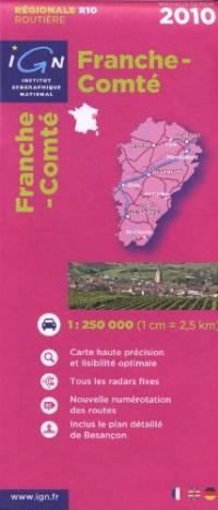 Franche-Comté : 1/250000