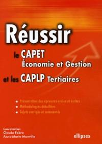 Réussir le CAPET Economie et Gestion et les CAPLP Tertiaires