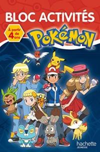 Bloc Activités Pokémon - 4 ans