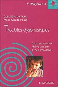 Troubles dysphasiques