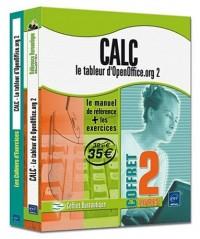 Calc - le tableur d'OpenOffice.org 2 - Coffret de 2 livres : Le manuel de référence + le cahier d'exercices