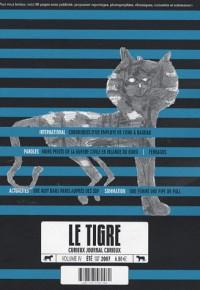 Le Tigre, N° 4 :