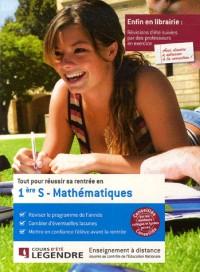 Tout pour réussir sa rentrée en Mathématiques 1e S