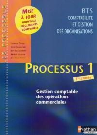 Processus 1 BTS CGO 1e année : Gestion comptable des opérations commerciales