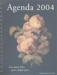 Agenda 2004 : Une oeuvre d'art pour chaque jour...