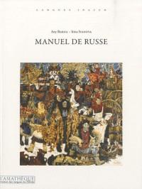 Manuel de russe premier niveau -  Livre + 1 CD MP3