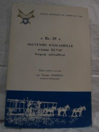 Br. Bréguet 29 +vingt-neuf : Souvenirs d'escadrille
