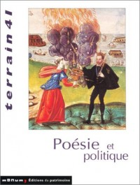 Revue Terrain, numéro 41 : Poésie et politique