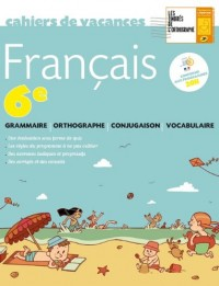 Cahier de vacances français 6ème