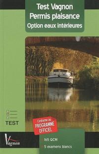 Test permis plaisance : Option eaux intérieures