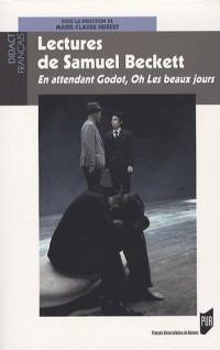 Lectures de Samuel Beckett : En attendant Godot, Oh ! Les beaux jours