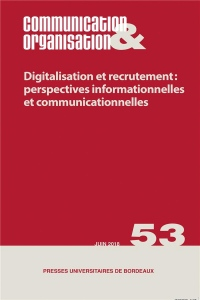 Digitalisation et Recrutement: Perspectives Informationnelles et Communicationne