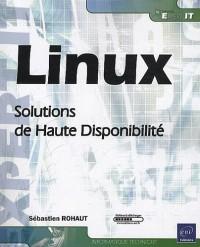 Linux - Solutions de Haute Disponibilité