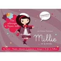 Millie et la mode : mes coloriages et paper-dolls