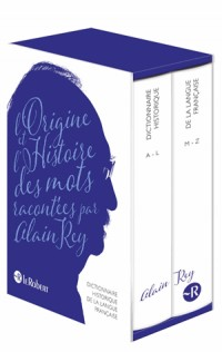 Dictionnaire historique de la langue française : 2 volumes numerotés