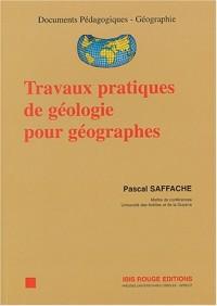 Travaux pratiques de géologie pour géographes