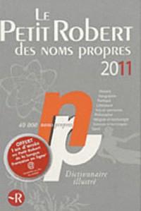PETIT ROBERT NOMS PROPRES 2011