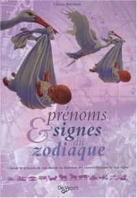 Prénoms et signes du zodiaque