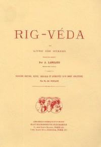 Rig-Véda ou Livre des hymnes