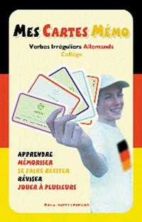 Mes cartes mémo : Verbes irréguliers Allemands Collège