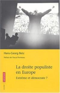 La droite populiste en Europe : Extrême et démocarate ?