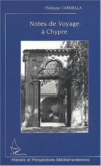 Notes de voyage à Chypre