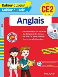 Cahier du jour/Cahier du soir Anglais CE2 - Nouveau programme 2016