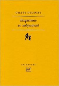 Empirisme et subjectivité