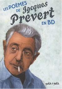Les poèmes de Jacques Prévert en bandes dessinées
