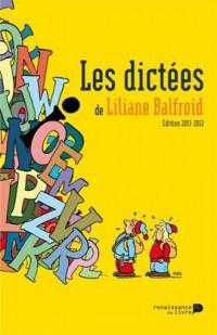 Dictées du Balfroid 2011 2012