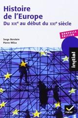 Histoire de l'Europe - Du XIXe au début du XXIe siècle [Poche]
