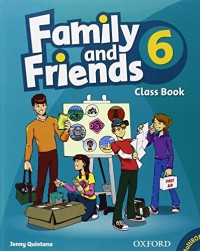 Family and Friends 6 : Class Book (1Cédérom)